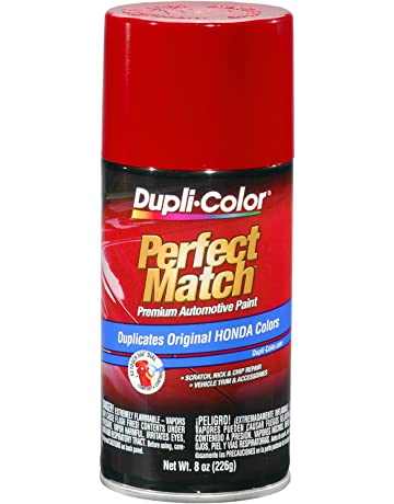 Amazoncom Dupli Color Ebha09557 Milano Red Honda Perfect Match