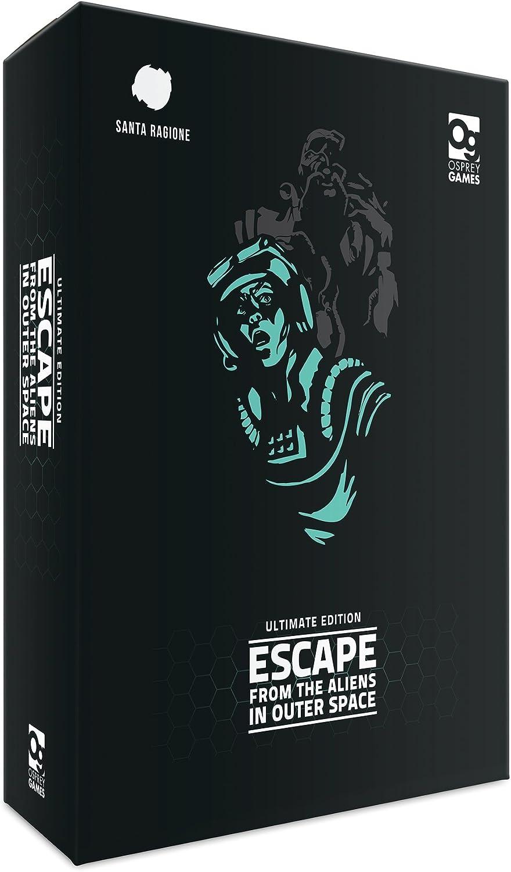 Escape from the Aliens in Outer Space: Ultimate Edition (Osprey Games): Santa Ragione, Ghigini, Giulia: Amazon.es: Juguetes y juegos