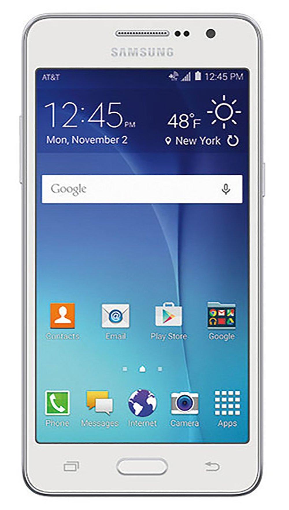 Samsung Galaxy Grand Prime Smartphone - Unlocked - White