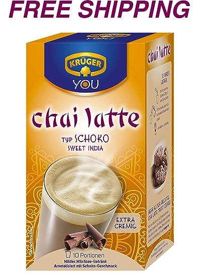 chai latte med kaffe