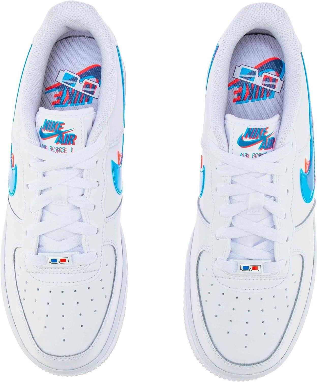 Nike Air Force 1 Lv8 Ksa (GS), Scarpe da Basket Bambino  kdDziE