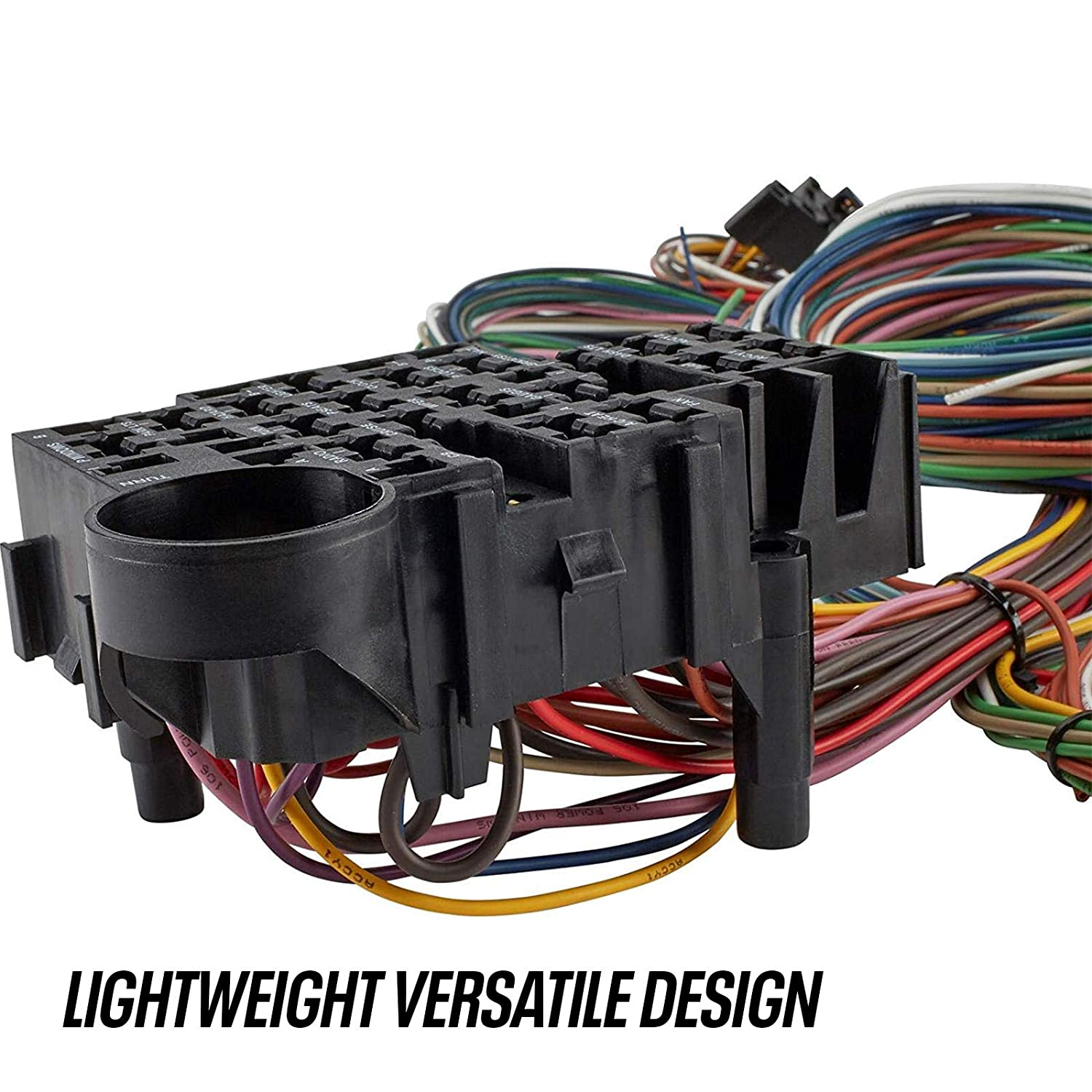Custom Wiring Harness >> 40 Custom Wiring Harness 29 30 36 Ford Chevy Use With Dash Ignition