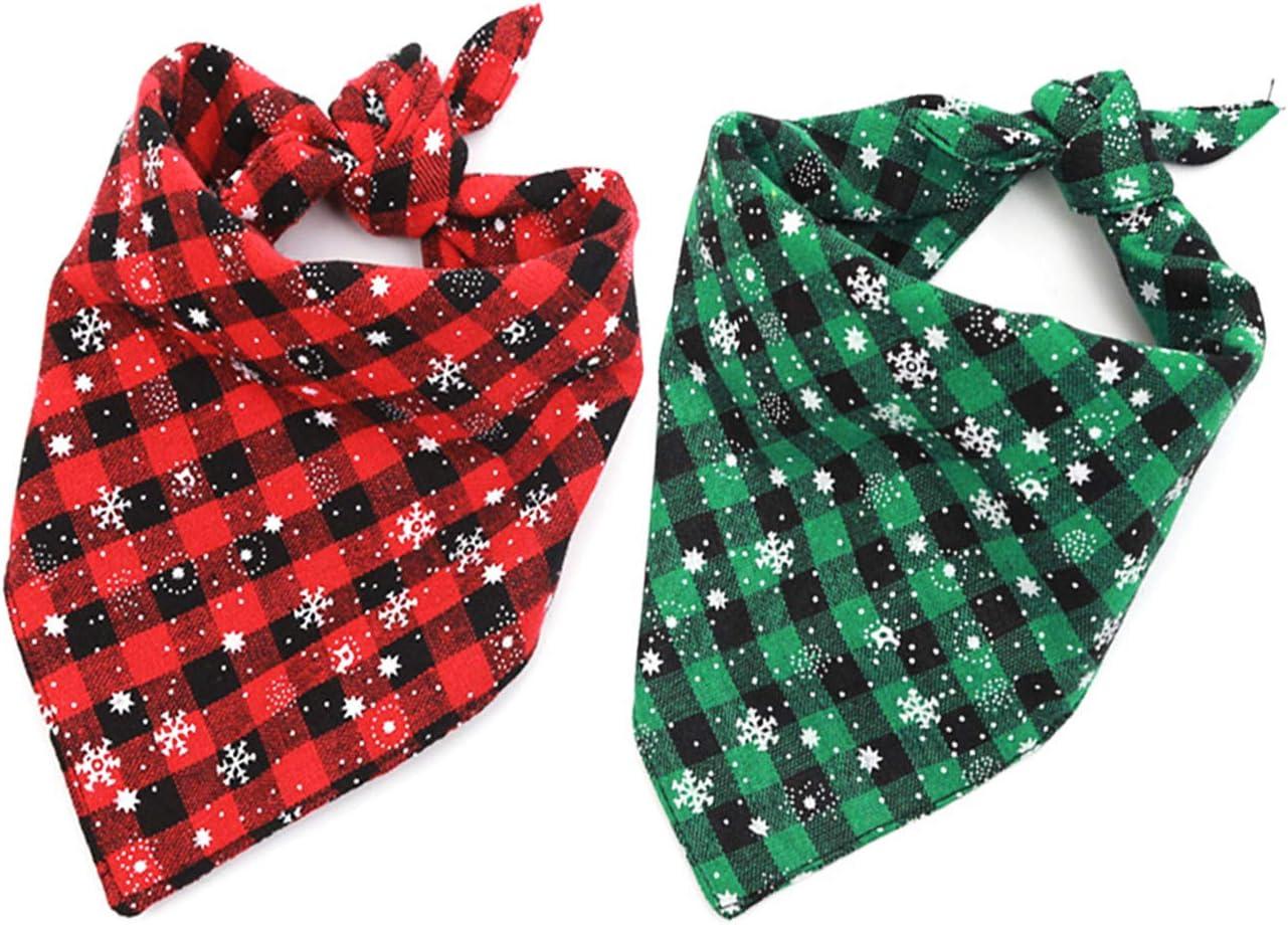 reversable dog bandanna Xmas cat bandana Holiday Christmas lights pet snap on bandana and matching scrunchies