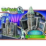 Wrebbit 3D - W3D-2013 - Financial - New York Collection  - 3D-Puzzle