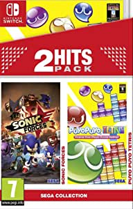 2 Hits Pack: Sonic Forces + Puyo Puyo Tetris: Amazon.es: Videojuegos