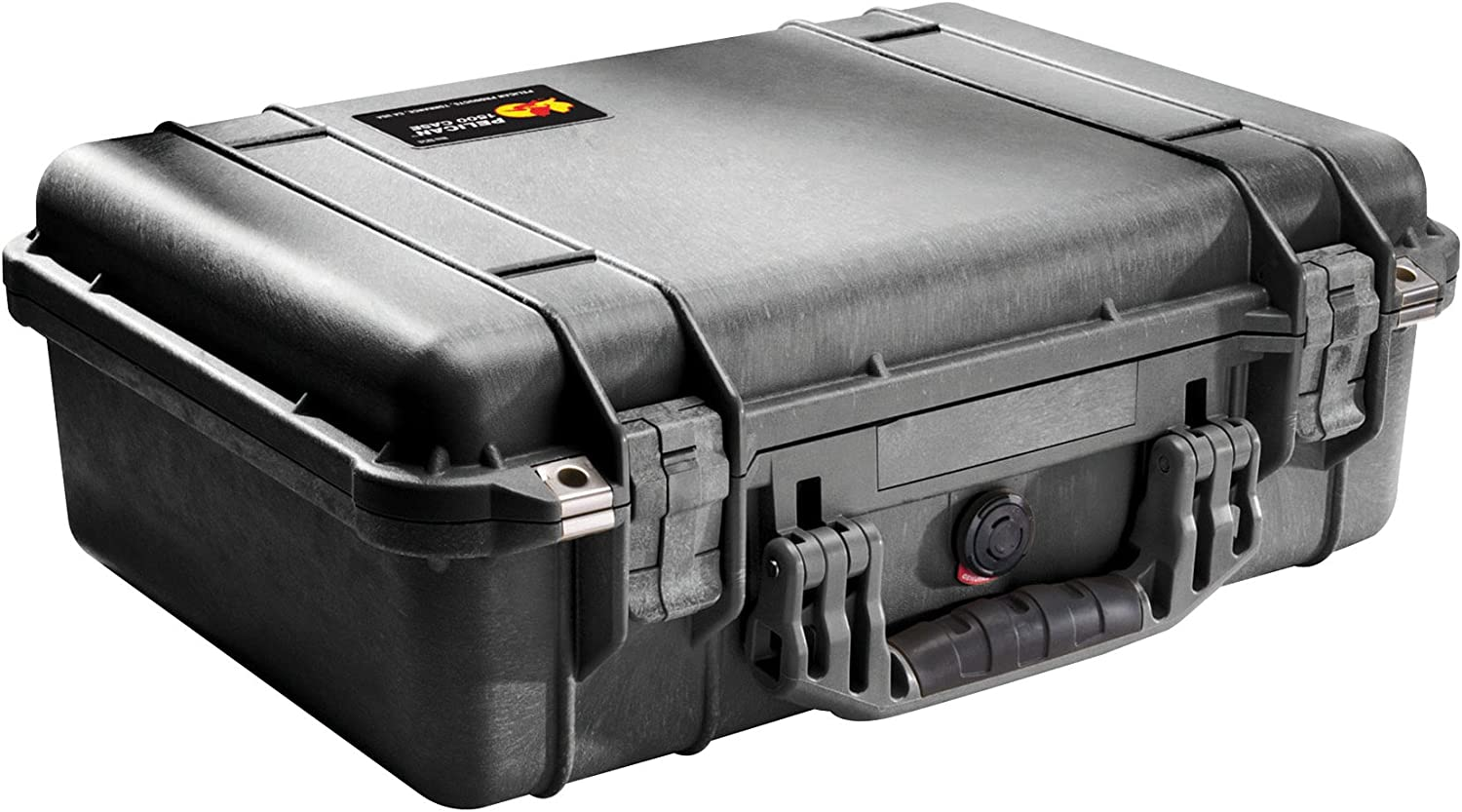 Pelican 1500 Case With Padded Divider Set (Black)