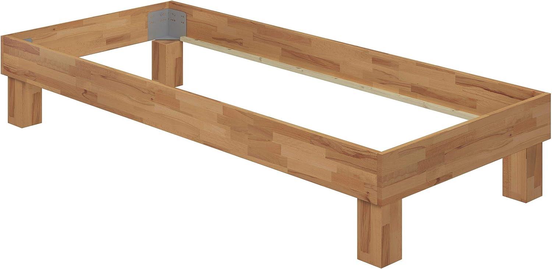 Erst-Holz Grand lit Simple h/être Massif 120x200 Accessoires Variables V-60.87-12 lit futon sans t/ête de lit Ausstattung:sans Accessoires