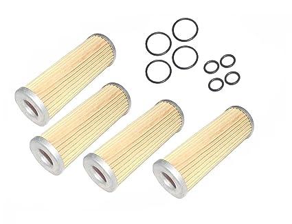 Amazon.com: New FOUR(4) Kubota Fuel Filter with O-Rings B6000 B6100