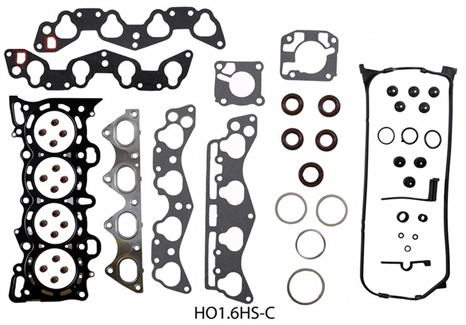 ReRing Kit w/Full Gasket Set Rings Bearings FITS Engines & Engine Parts 2006-2012 Mazda 2.3L DOHC MZR-T Turbo Speed3 Speed6 CX-7