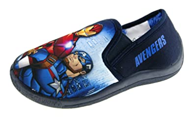 44f936419c45 Marvel Avengers Boys Character Slippers  Amazon.co.uk  Shoes   Bags