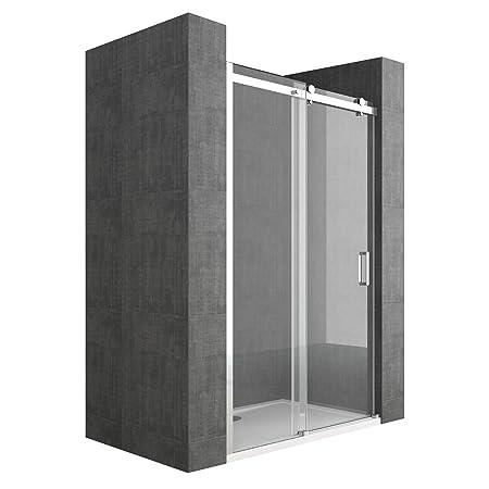 Nische Door Teramo04 Clear Sliding Glass Door Shower Enclosure 8 Mm