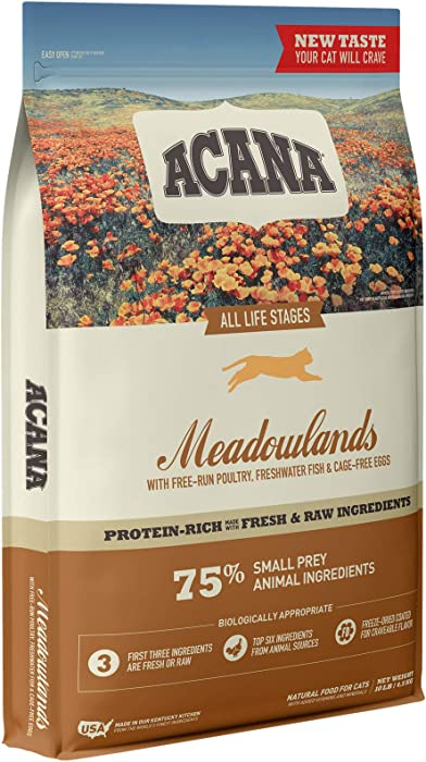 Top 10 Acana Meadowlad Cat Food