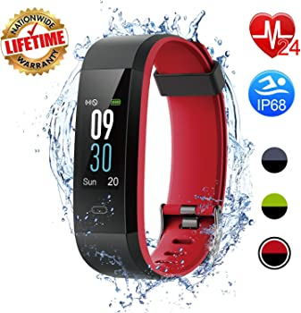I-Swim Colour Screen Waterproof Fitness Activity Tracker