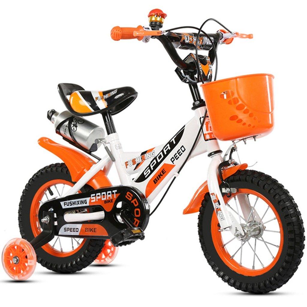 子供用自転車、カップ補助輪付き自転車の男の子の自転車ダンピングクリエイティブ多機能自転車の長さ88-121CM (色 : オレンジ, サイズ さいず : 121CM) B07CWD1ZGH 121CM オレンジ オレンジ 121CM