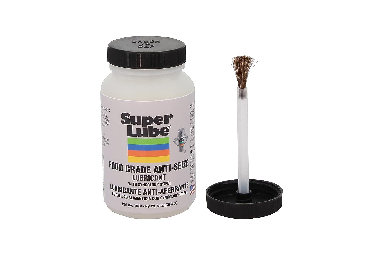 Super Lube 48008 Super Lube Food Grade Anti-Seize w/Syncolon (PTFE), Translucent White