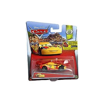 Disney/Pixar Cars, WGP (World Grand Prix) Die-Cast Vehicle, Miguel Camino #7/17, 1:55 Scale: Toys & Games