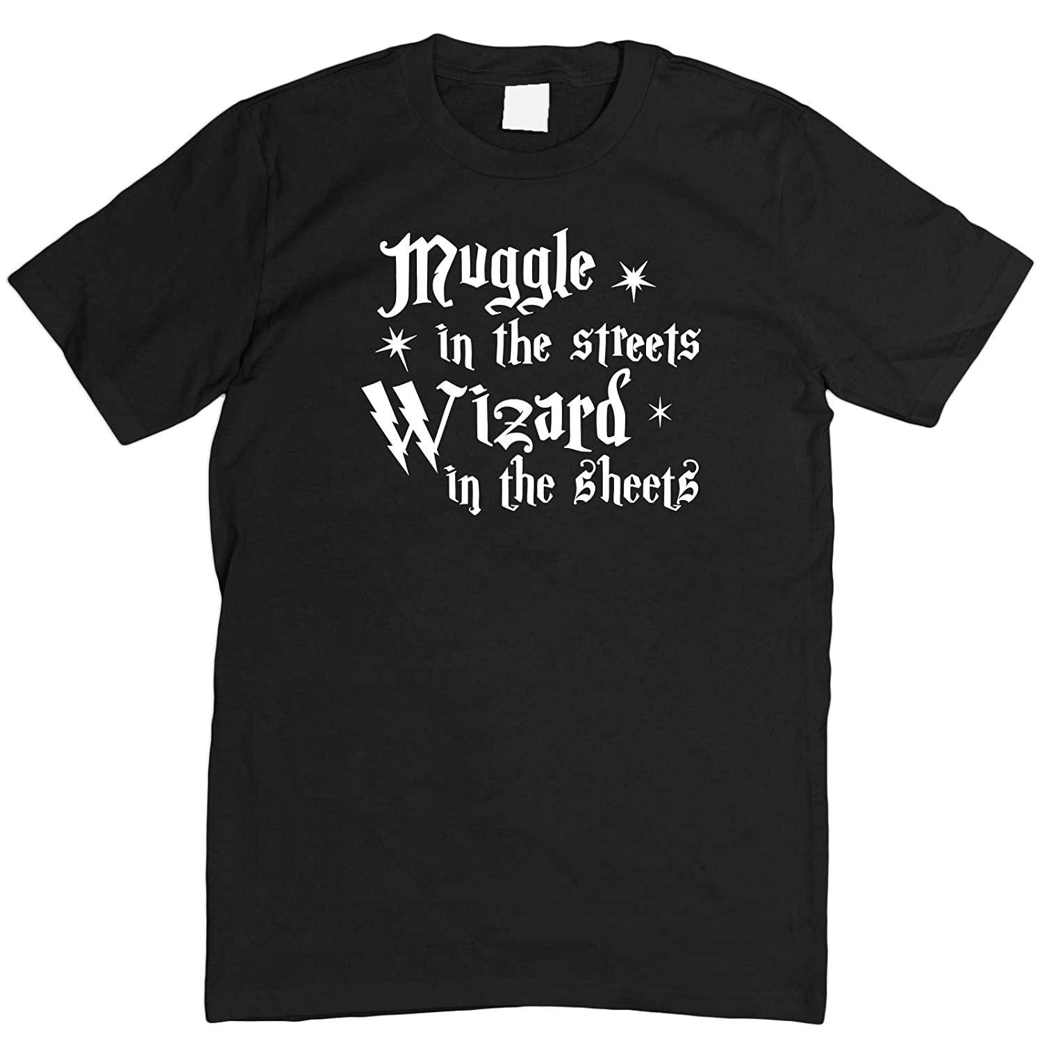 Muggle in the Streets Wizard in the Sheets T-Shirt S - 5XL: Amazon.co.uk:  Clothing