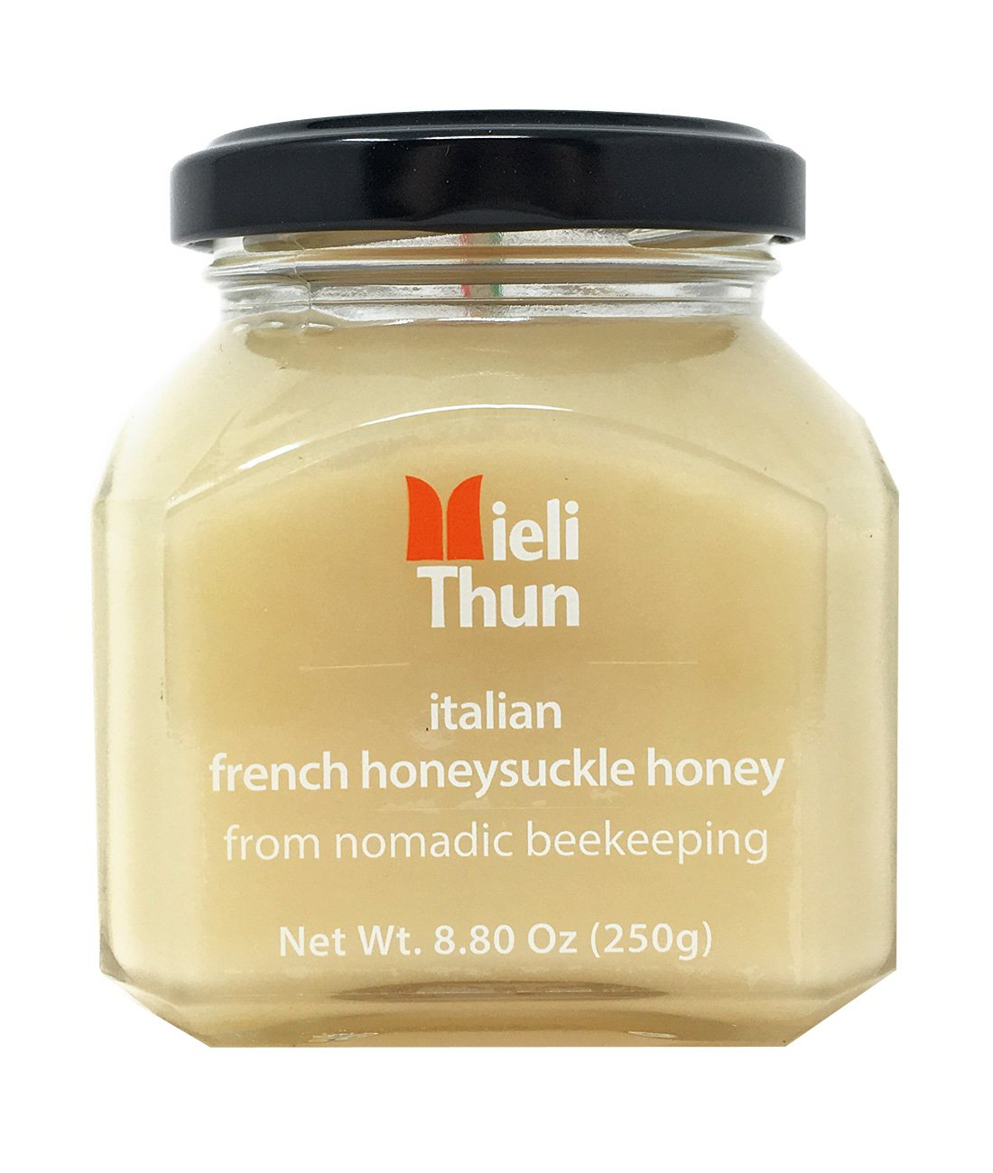 Mieli Thun all natural French Honeysuckle- Honey Sulla - Italy - 8.8 ozs.