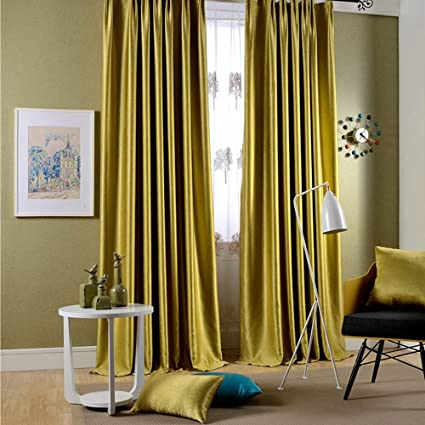 Leyden Grommet Top Classic Solid Chartreuse Bright Velvet Curtains Curtain Drapes