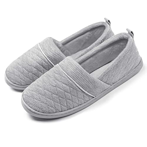 8c831c7753185 ChicNChic Women Comfort Cotton Soft Sole Indoor Slippers Anti-Slip House  Shoes