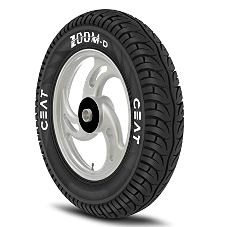 Ceat Zoom D 90/90-12 54J Tubeless Scooter Tyre,Front or Rear (Home Delivery)