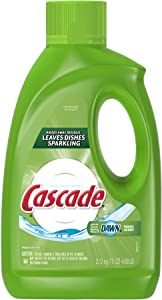 Cascade Gel Dishwasher Detergent, Fresh Scent, 75-Ounce (Pack of 6)