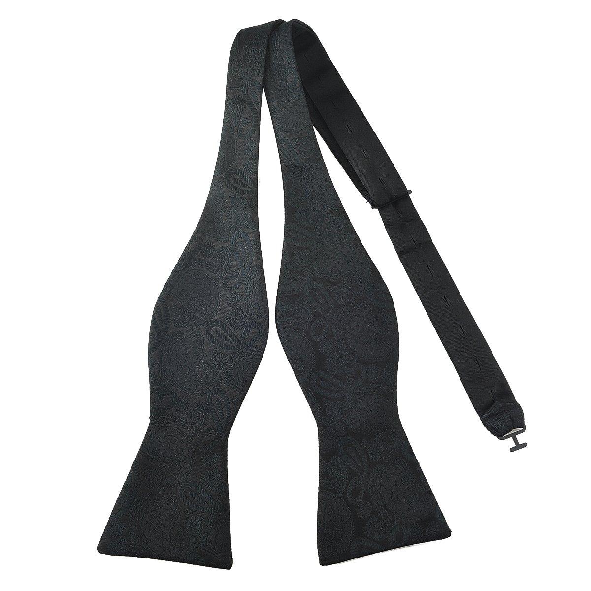 /Self lazo cl/ásico de pata de serie geom/étrico Plaids Tejido de seda lazo ties-various estilos PenSee/