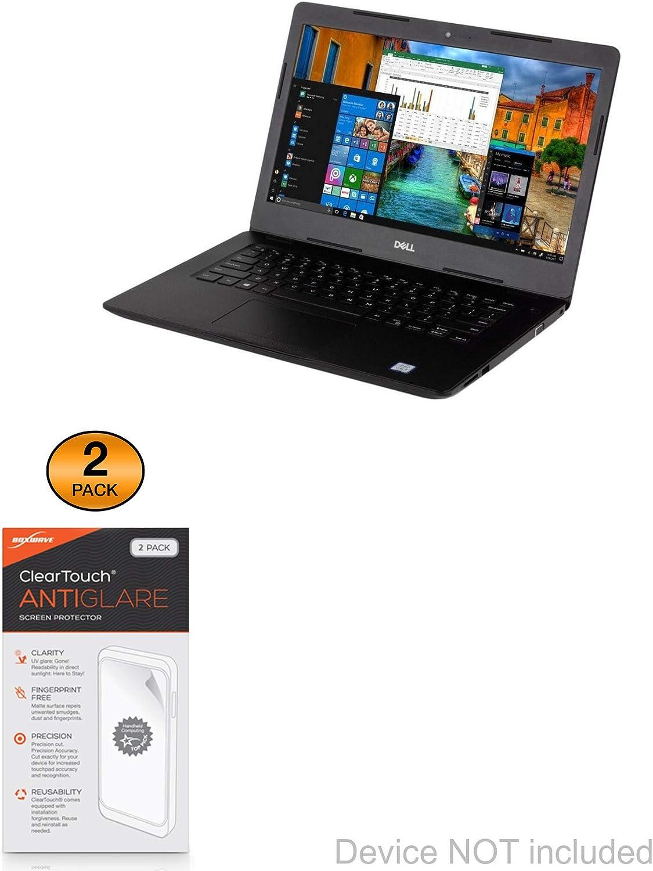 BoxWave/® Dell Vostro 14 3481 Screen Protector 2-Pack Anti-Fingerprint Matte Film Skin for Dell Vostro 14 3481 ClearTouch Anti-Glare