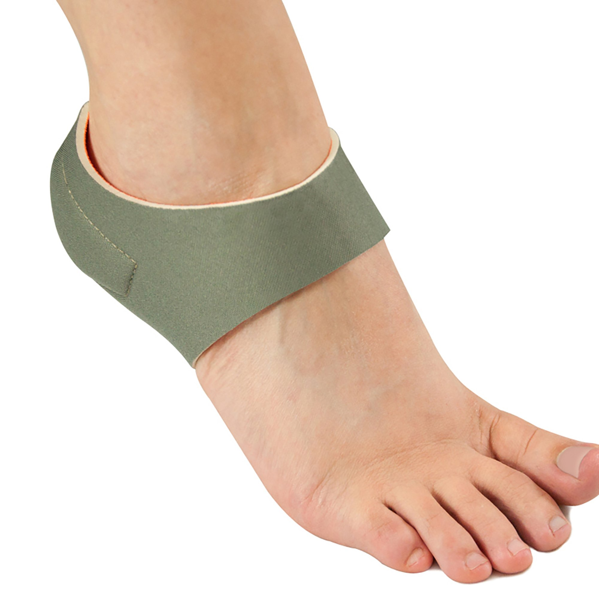 Patented Plantar Fasciitis Heel Hugger with Magnet Therapy for Heel Pain, Medium by Brownmed