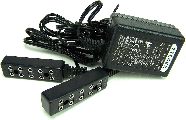 Trafo Gleichstrom Beleuchtungstrafo 3,5V Mit Ruhelicht und Flackerlicht.