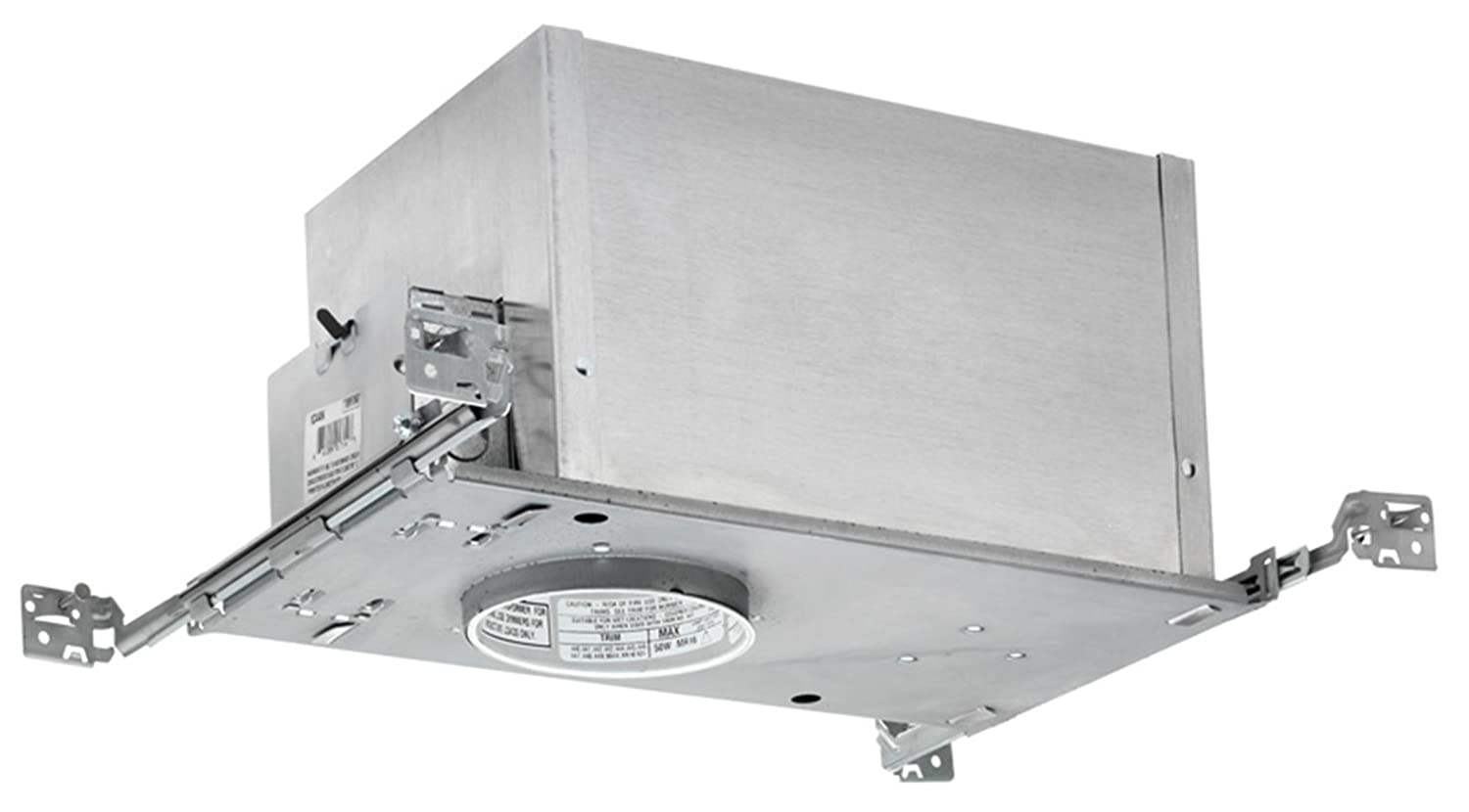 Wac lighting hr hl 4 low voltage new construction housing recessed can light - Juno Lighting Ic44n 4 Inch Ic Rated Low Voltage New Construction Recessed Housing Recessed Light Fixture Housings Amazon Com