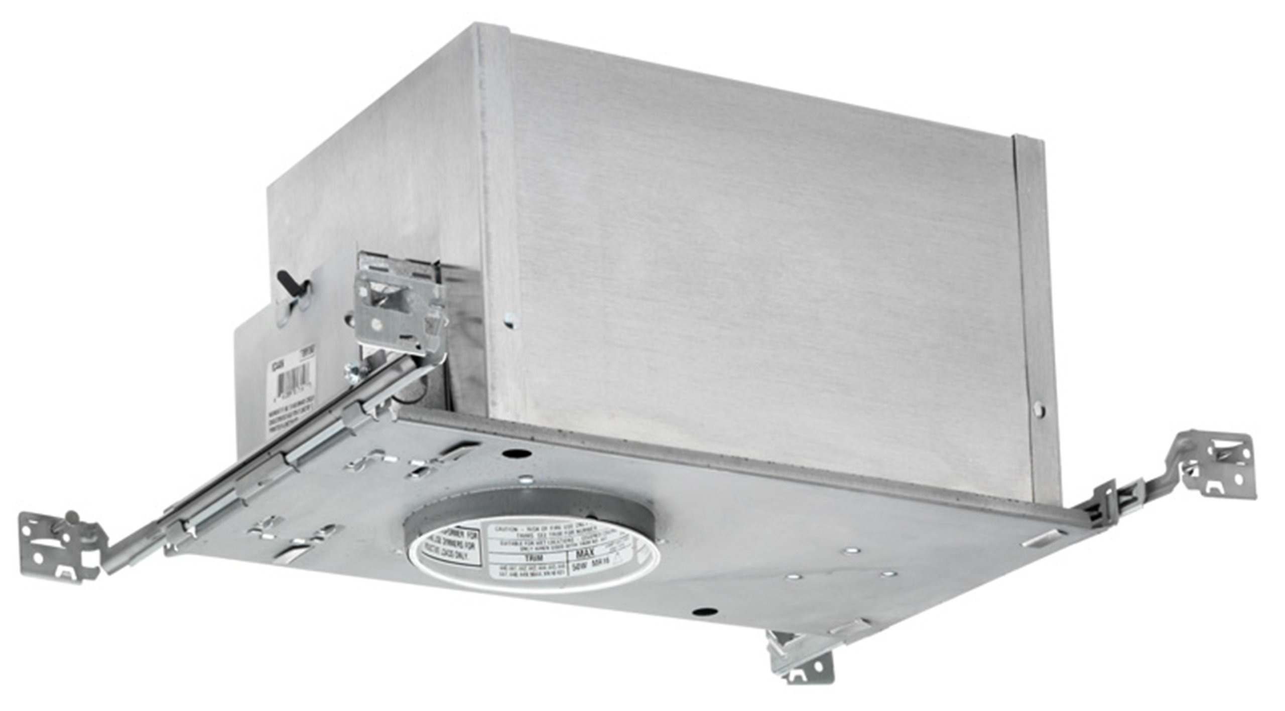 Juno Lighting IC44N IC rated Low Voltage New Construction Recessed Housing, 4'', Unfinished