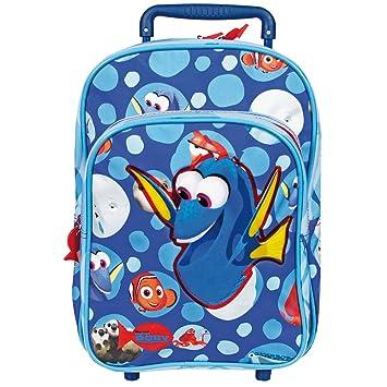 Perletti - Trolley de niño Buscando a Dory Disney - Mochila con ruedas y correas para con estampado de Nemo y Dory - 31 x 23,5 x 13 cm: Amazon.es: Equipaje