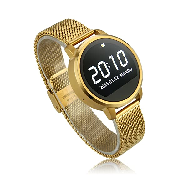 Amazon.com: V360 Smart Watch Phone 1.22 Inch Bluetooth Watch ...