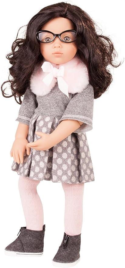 Gotz Emma Happy Kidz 19.5 Poseable Multi-Jointed Blonde Limited Edition Vinyl Doll with Hazel Gray Eyes