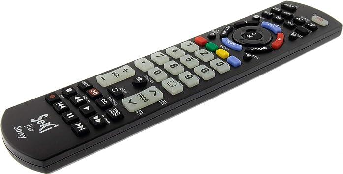 SeKi - Mando a Distancia para Sony (Funciona con Todos los Dispositivos Sony (TV, TV Smart TV, DVD, LED TV y 4K), con función de Aprendizaje Adicional: Amazon.es: Electrónica