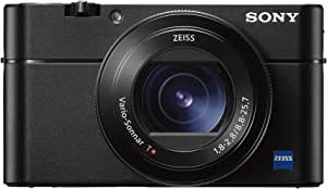 "Sony Cyber-Shot DSC-RX100 V 20.1 MP Digital Still Camera with 3"" OLED, flip Screen, WiFi, and 1"" Sensor DSCRX100M5/B"