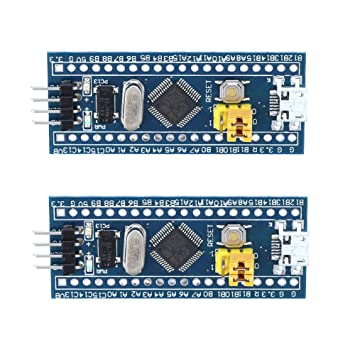 Amazon com: UEB 2Pcs STM32F103C8T6 ARM Minimum System