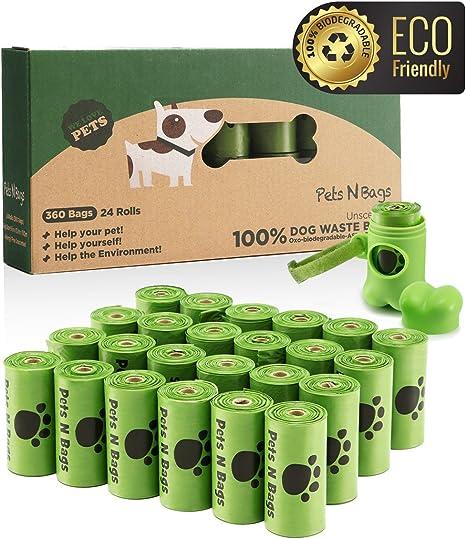 Amazon.com: Paquete de 24 rollos con 360 bolsas para ...