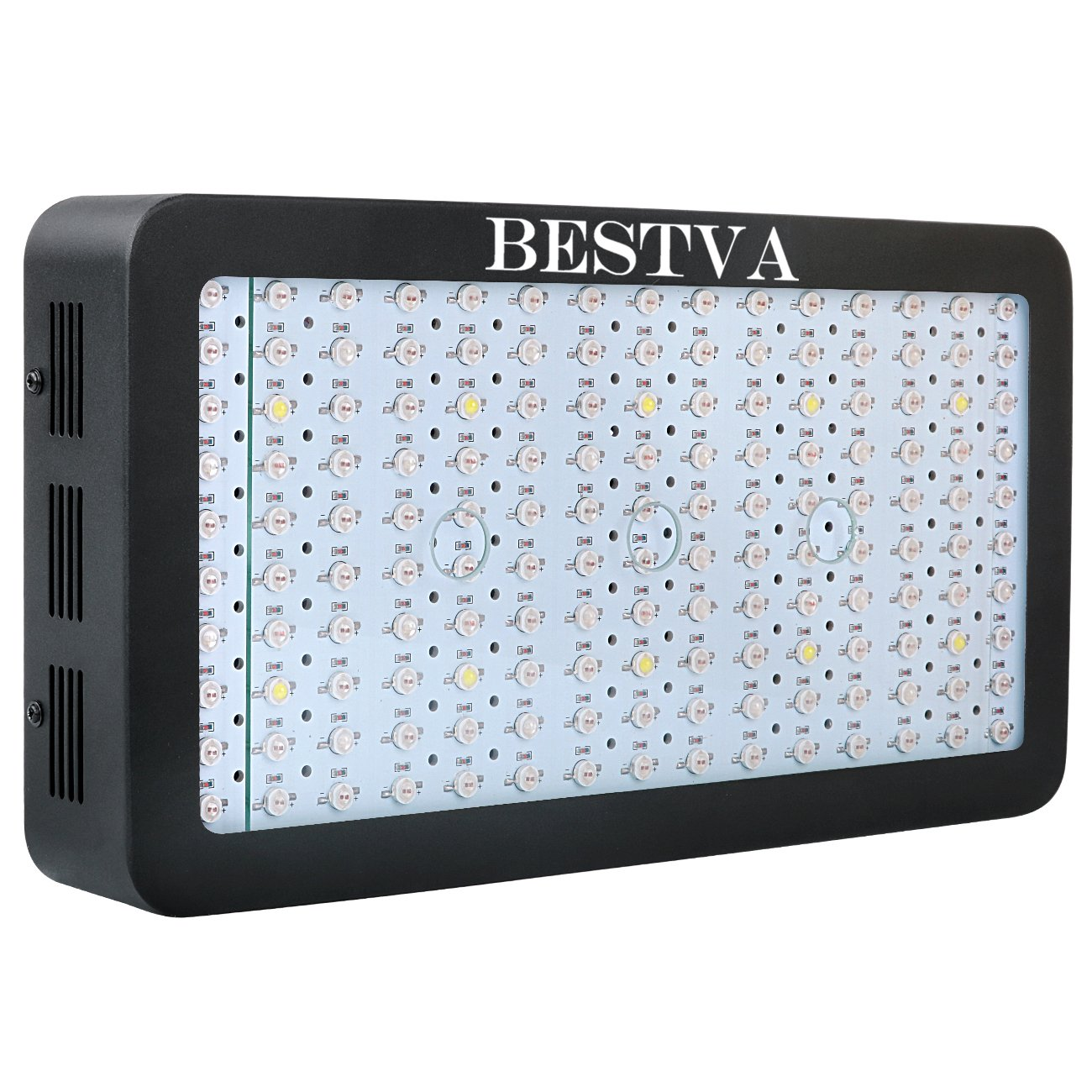 BESTVA 1500W Double Chips LED Grow Light Full Spectrum Grow Lamp for Greenhouse Hydroponic Indoor Plants Veg and Flower by BESTVA