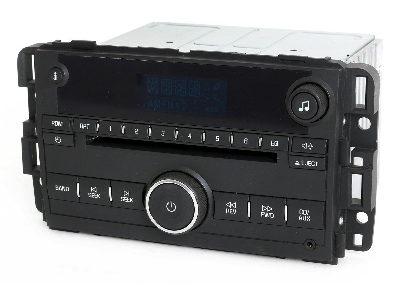 Chevy 2009 2016 Impala Am Fm Cd Player Radio W Bluetooth 2010 Stereo Wiring Harness Music 20756283 Unlocked Home Audio Theater