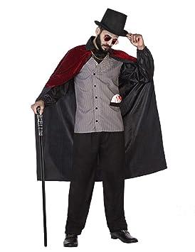 Atosa Disfraz de Vampiro Gris para Hombre: Amazon.es: Juguetes y ...