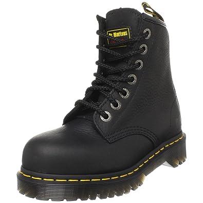 Dr. Martens Men's 7B10 Steel Toe Boots,Black,11 UK/12 US
