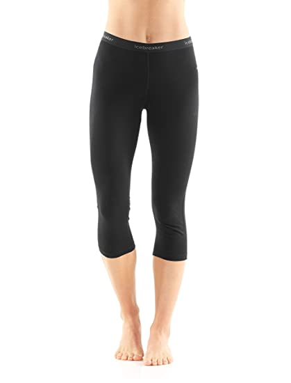 72ffacb59d3 Amazon.com: Icebreaker Merino Women's Oasis Midweight Base Layer 3/4 ...