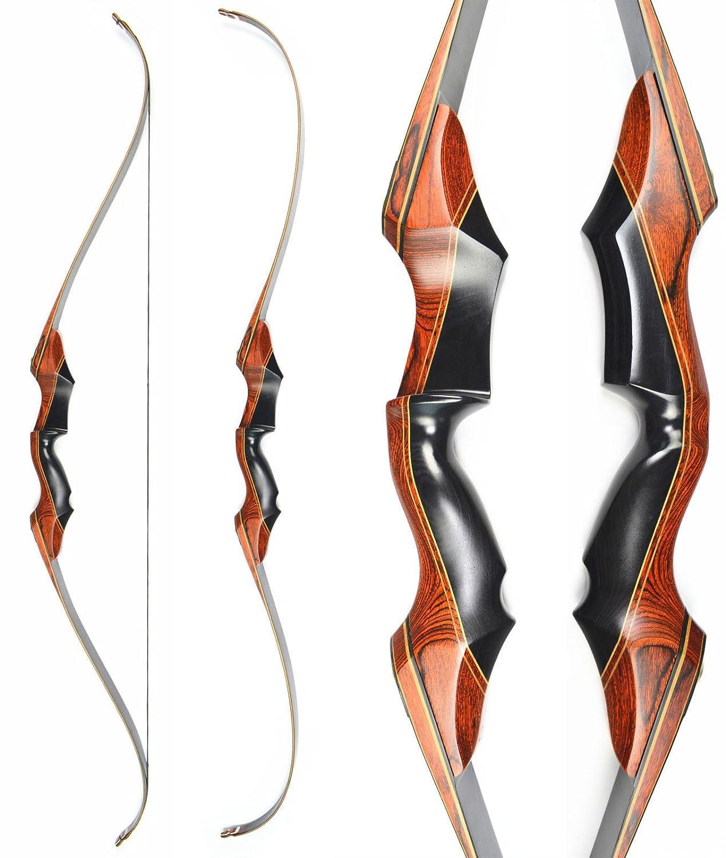 D&Q Takedown Recurve Bow Arrow Aduilt Set Aluminum Alloy