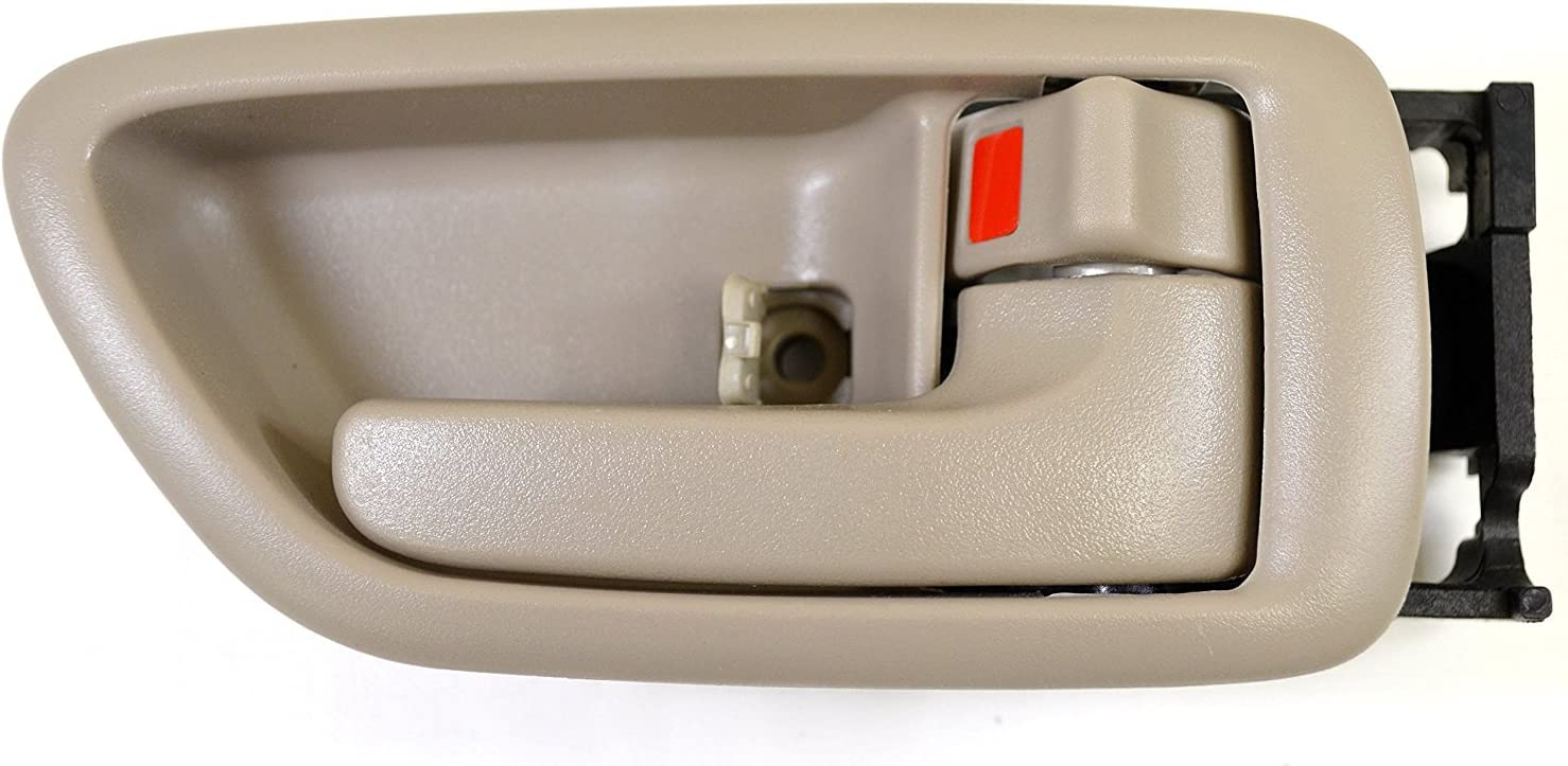 Crew Cab ONLY Eynpire 8076 Interior Inside Left Driver Side /& Right Passenger Side Pair Set Door Handle Beige For 2001-2007 Toyota Sequoia; 2004-2006 Toyota Tundra