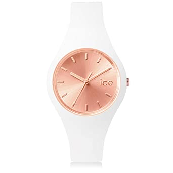 5748bf1cbafda Ice-Watch - Ice Chic White Rose-Gold - Montre Blanche pour Femme avec