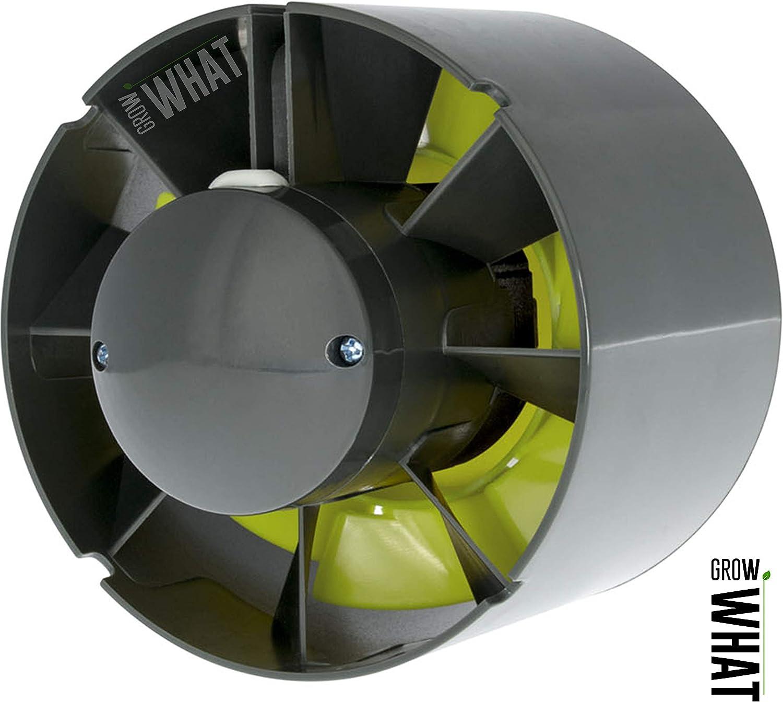 5 125mm Garden High Pro ProFan Axial Flo Inline Grow Room Tent Fan 4 5 6 100mm 125mm 150mm Silent Powerful Full Set Up