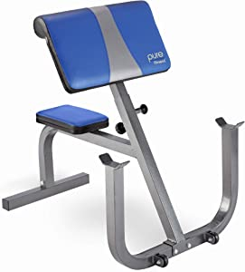 Pure Fitness Preacher Curl Station