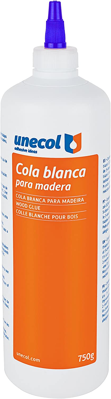 botella c/ánula Blanco 250 g Unecol 5129 Cola
